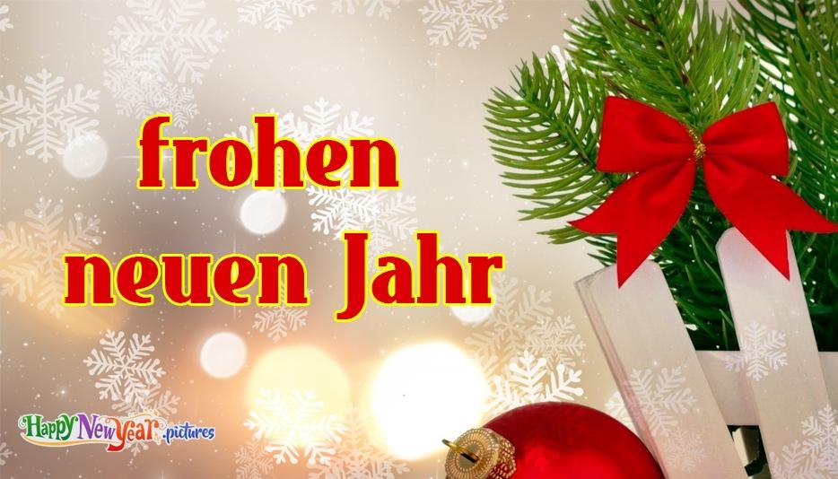 Bild zum frohen neuen Jahr