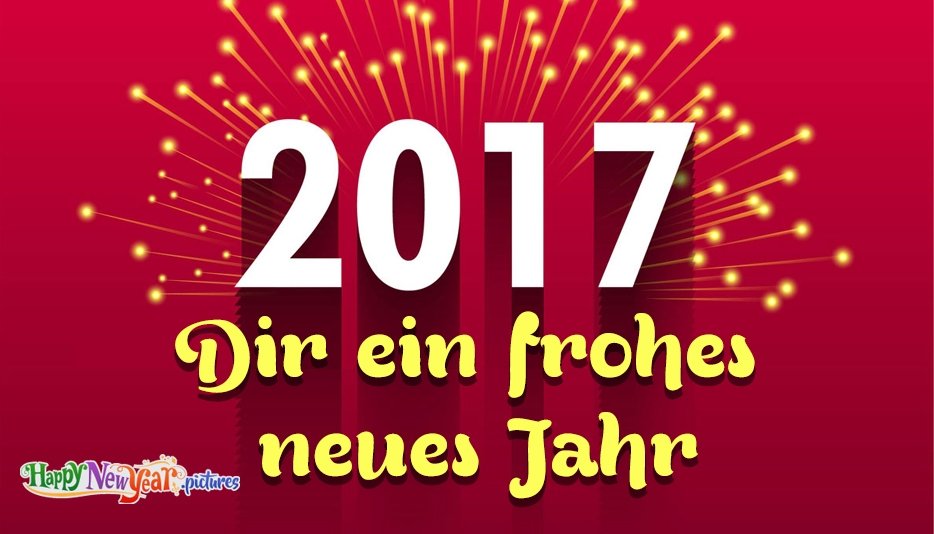 Frohes neues Jahr Freundin