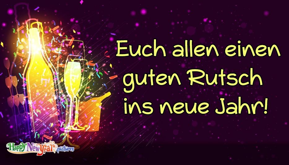 Frohes neues Jahr Alle