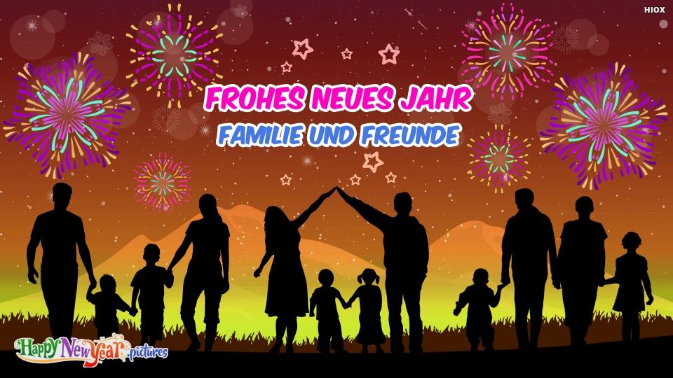 Frohes neues Jahr Wünscht Sich