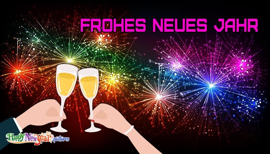 Frohes neues Jahr Jeder