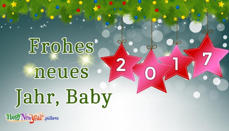 Frohes neues Jahr Liebling