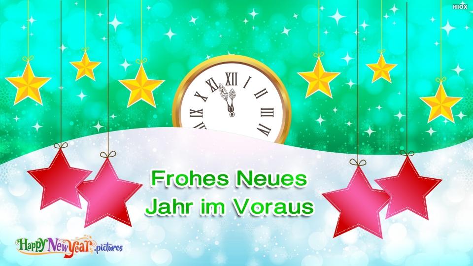 Frohes Neues Jahr Im Voraus