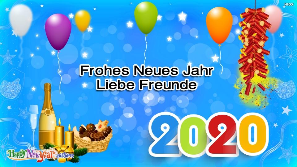 Frohes neues Jahr Neues Jahr 2020