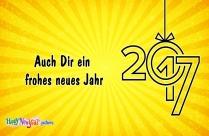 Auch Dir Ein Frohes Neues Jahr
