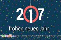Ein Foto Zum Frohen Neuen Jahr 2017
