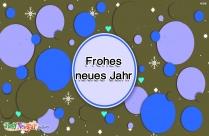 Ein Fröhliches Neues Jahr An Alle Meine Freunde