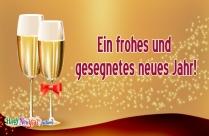 Ein Frohes Und Gesegnetes Neues Jahr!