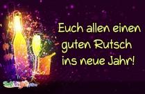 Euch Allen Einen Guten Rutsch Ins Neue Jahr!