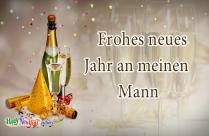 Frohes Neues Jahr An Meinen Mann