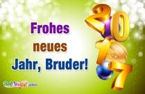 Frohes Neues Jahr, Bruder!