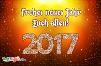 Frohes Neues Jahr Euch Allen!