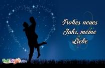 Frohes Neues Jahr, Meine Liebe