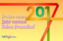 Frohes Neues Jahr An Meine Facebook-Freunde!
