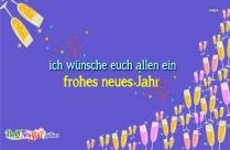 Ich Wünsche Allen Ein Frohes Neues Jahr!