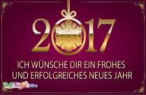 Ich Wünsche Dir Ein Frohes Und Erfolgreiches Neues Jahr