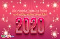 Ich Wünsche Ihnen Ein Frohes Und Erfolgreiches Neues Jahr