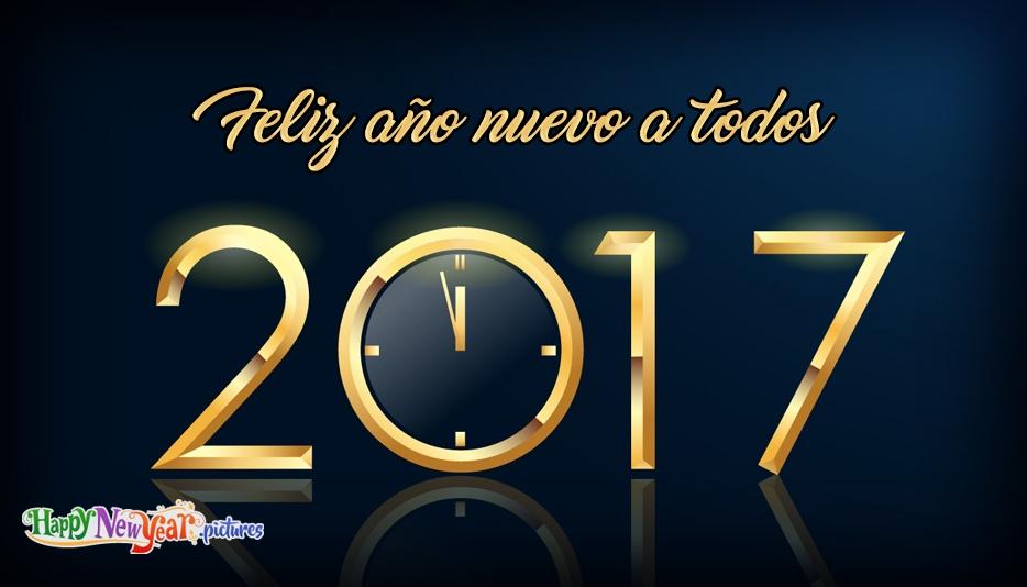 Feliz año nuevo Colegas