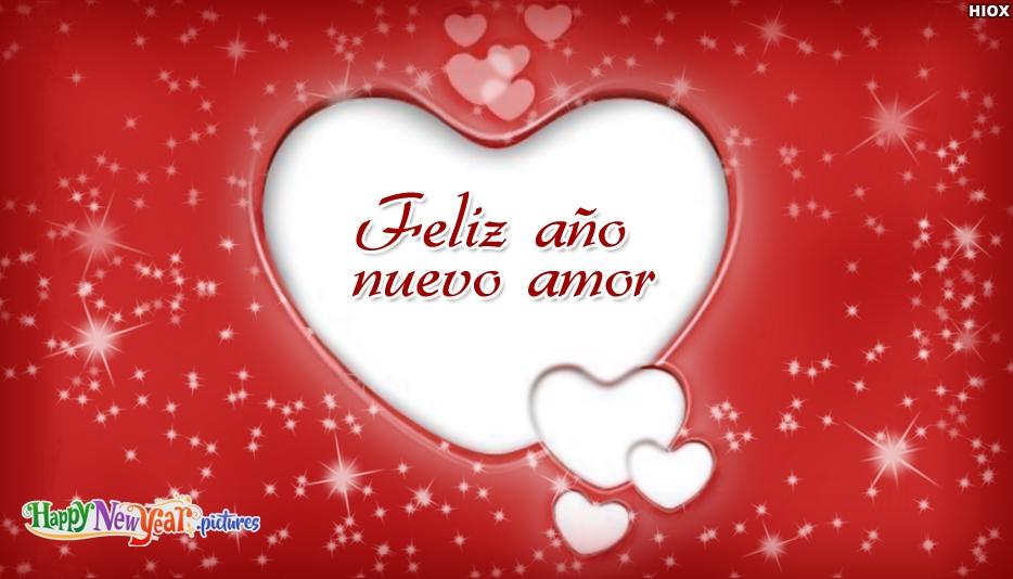 Feliz año nuevo Amante