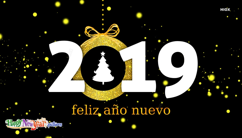 Feliz Año Nuevo Background