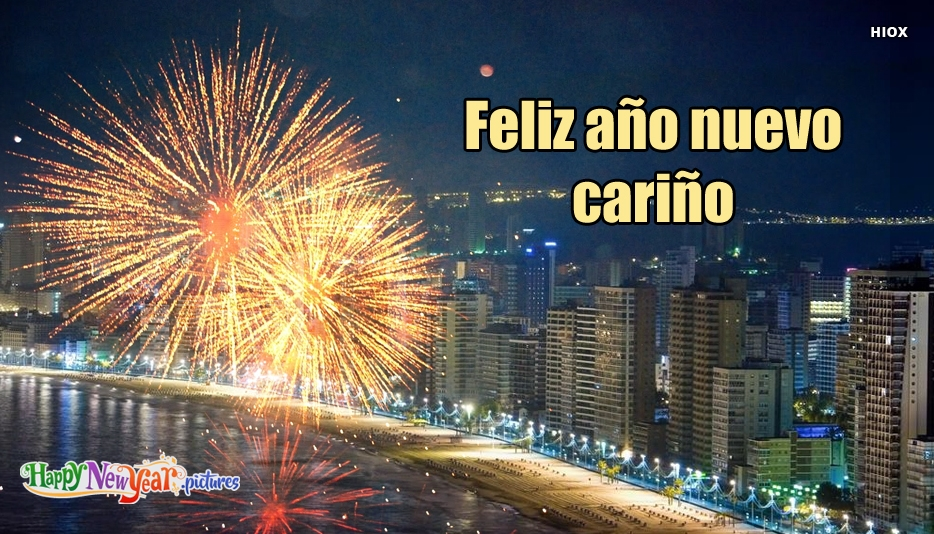 Feliz año nuevo Amor