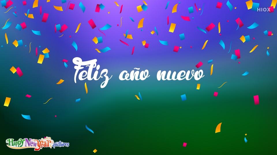 Feliz año nuevo Feliz Año Nuevo