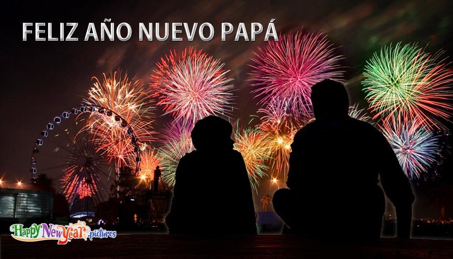Feliz año nuevo papá