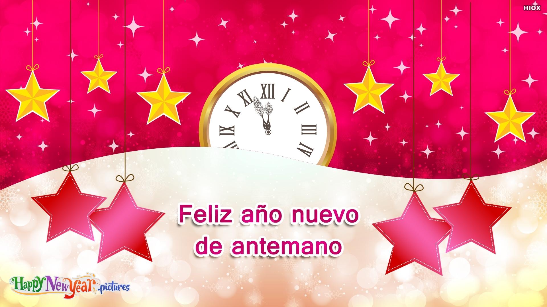 Feliz Año Nuevo Por Adelantado