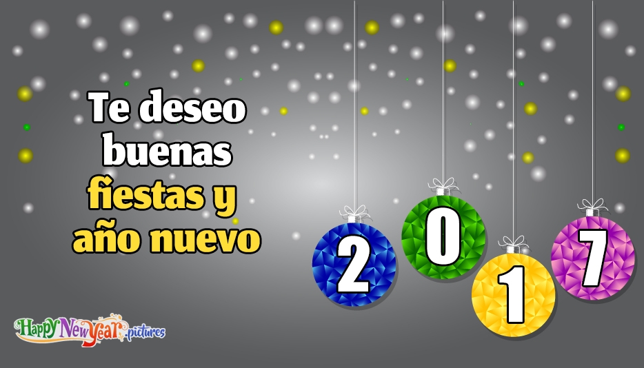 Feliz año nuevo Vacaciones