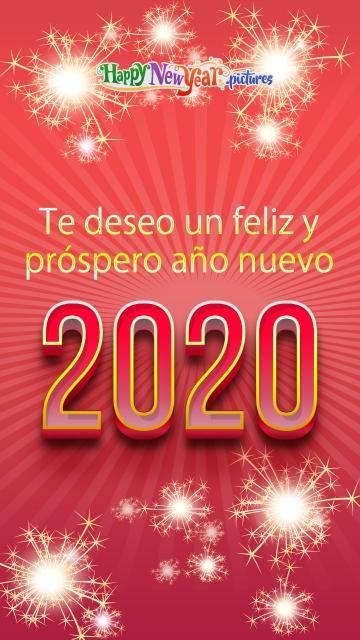 Te Deseo Un Feliz Y Próspero Año Nuevo