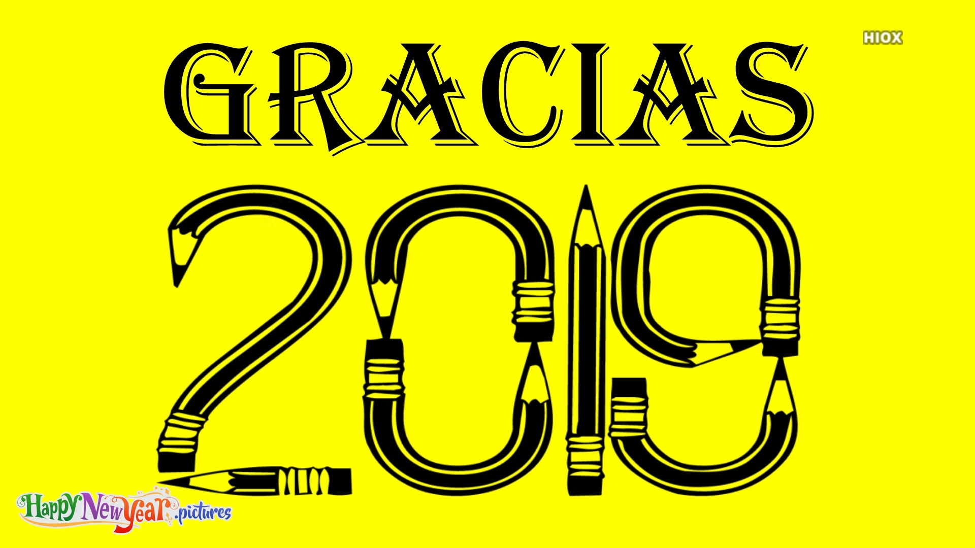 Thank You 2019 In Spanish