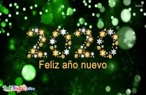 Alegre Feliz Año Nuevo