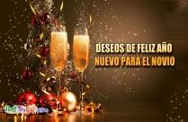 Deseos De Feliz Año Nuevo Para El Novio