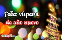 Feliz Víspera De Año Nuevo