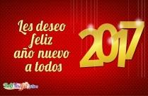 Feliz Año Nuevo A Un Amigo Especial