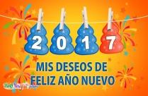 Mis Deseos De Feliz Año Nuevo