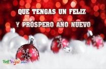 Que Tengas Un Feliz Y Próspero Año Nuevo