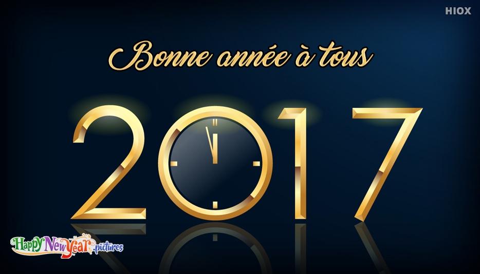 bonne année Tout