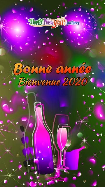 Bonne Année Bienvenue 2020