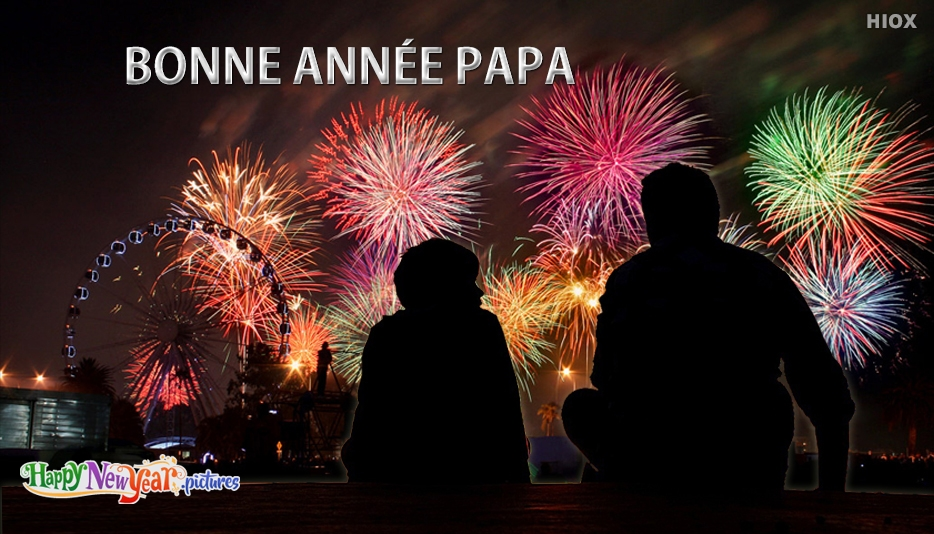 bonne année Père