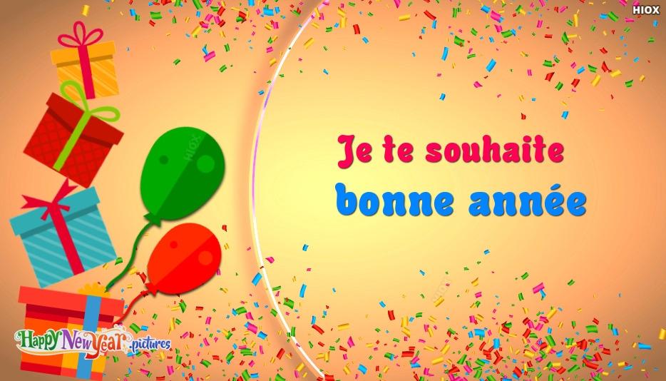 bonne année Toutes Les Personnes