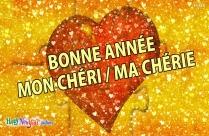 Bonne Année Mon Chéri / Ma Chérie
