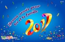 Bonne Année Pour Toi Et Ta Famille