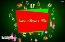 Bonne Année Pour Tous