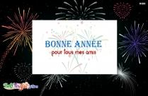 Bonne Année Pour Tous Mes Amis