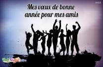 Mes Vœux De Bonne Année Pour Mes Amis