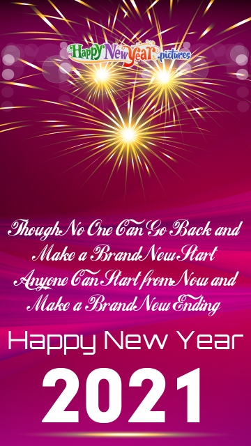 Happy New Year Motivational Quotes 2021