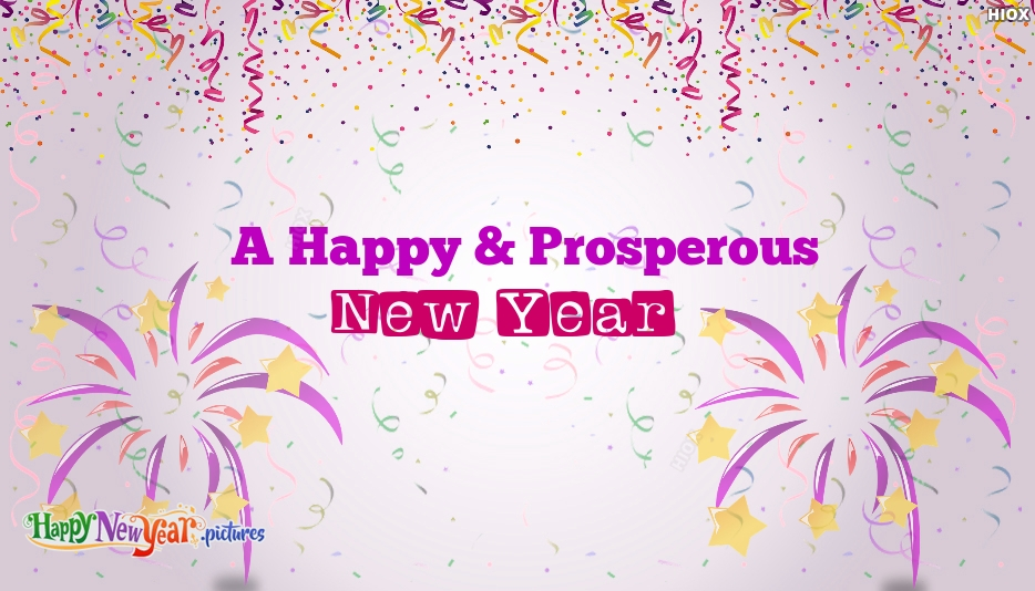 A Happy and Prosperous New Year