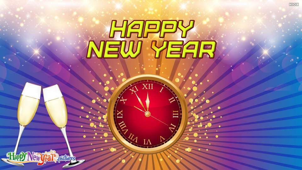 Beautiful Happy New Year Wishes To All