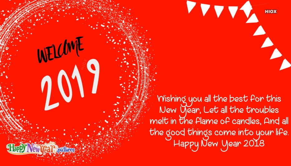 Best Wishes For A Happy New Year